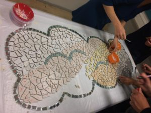 Mosaic making in Delft! @ Atelier of Nan (old Gemeente Delft building)   Delft   Zuid-Holland   Netherlands
