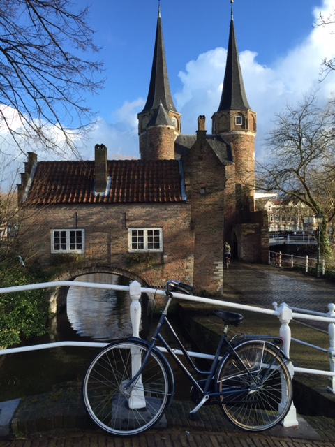 Bike at the Oostpoort