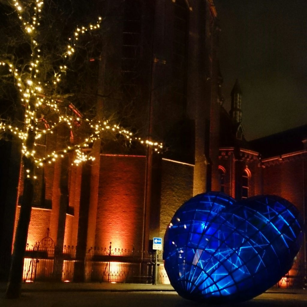 Lights heart Delft