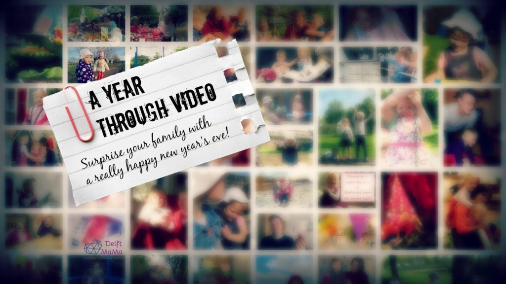 Year Video - show your adventures to your family on new year's eve!