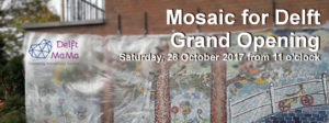 Grand Opening Mosaic for Delft @ De Achtertuin Playground | Delft | Zuid-Holland | Netherlands