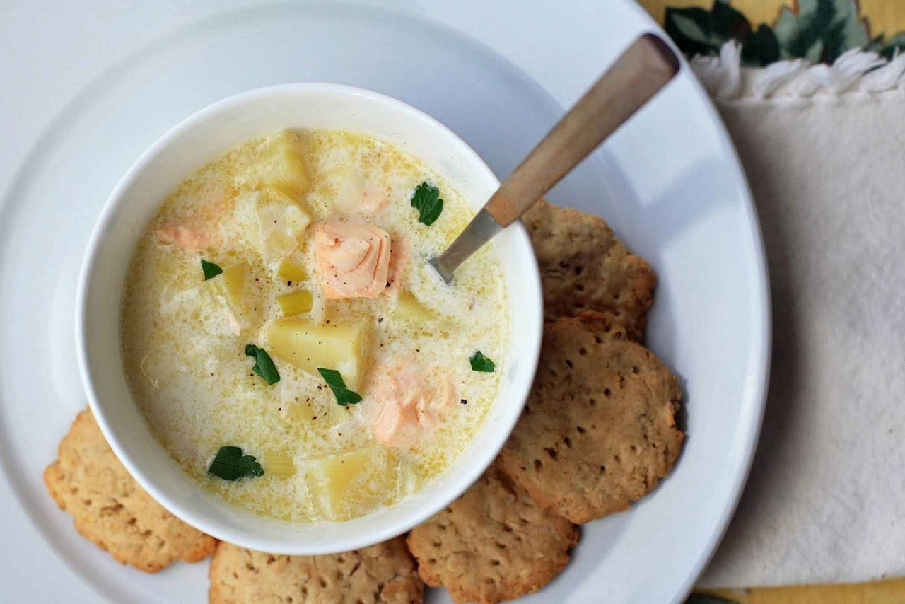 Finnish Salmon Soup