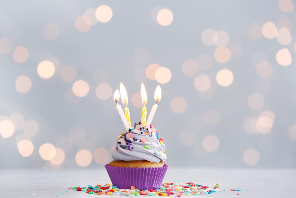 Blogiversary Cake
