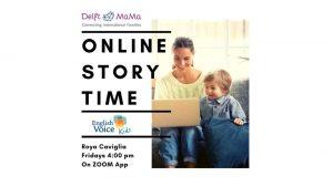 Online Storytime @ zoom app
