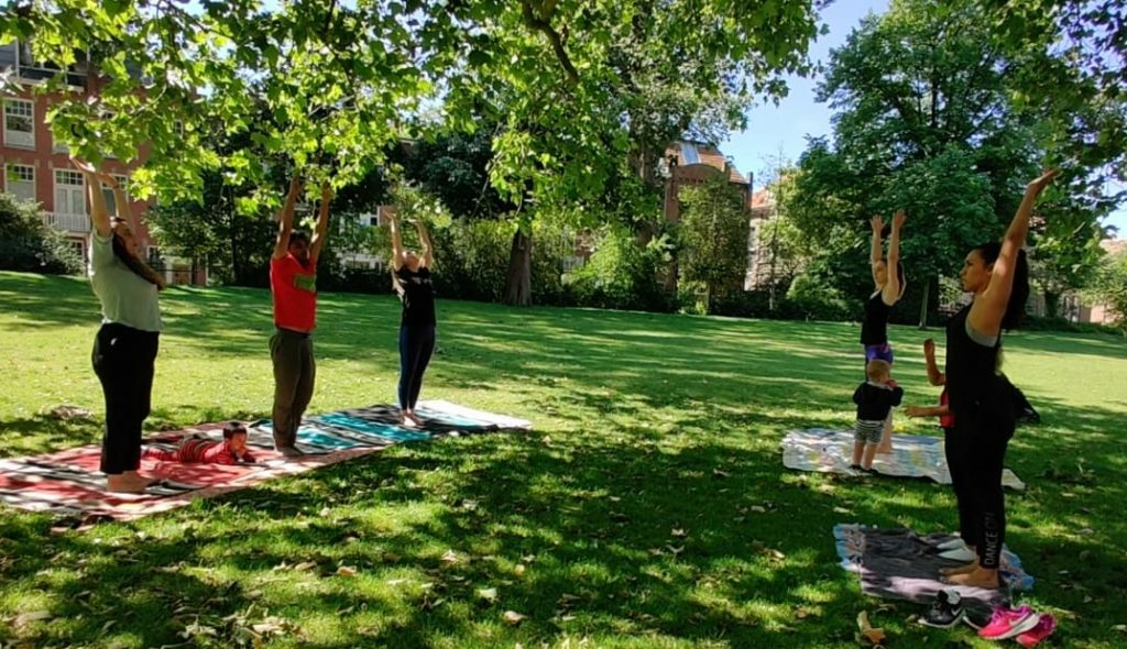 DMM Family Yoga in the Park