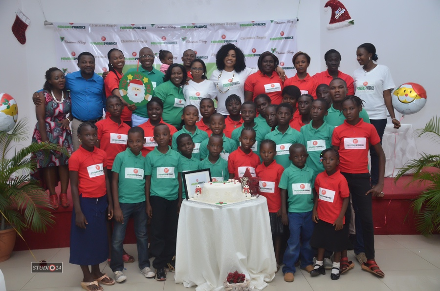 Fortunes Dynamics Foundation Christmas Party with Florence Igboayaka