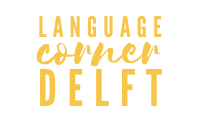 Language Corner Delft-transparant-yellow
