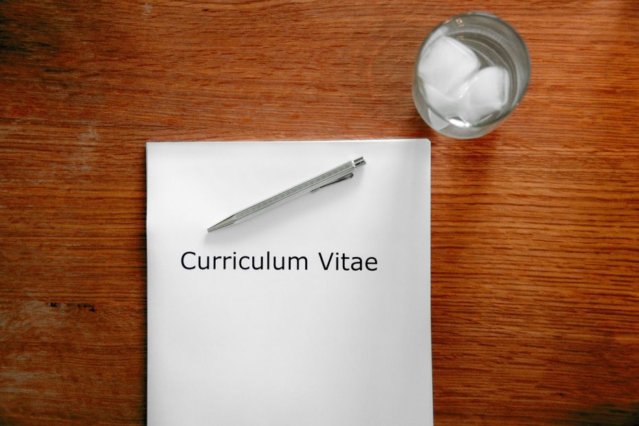 application, curriculum vitae, interview