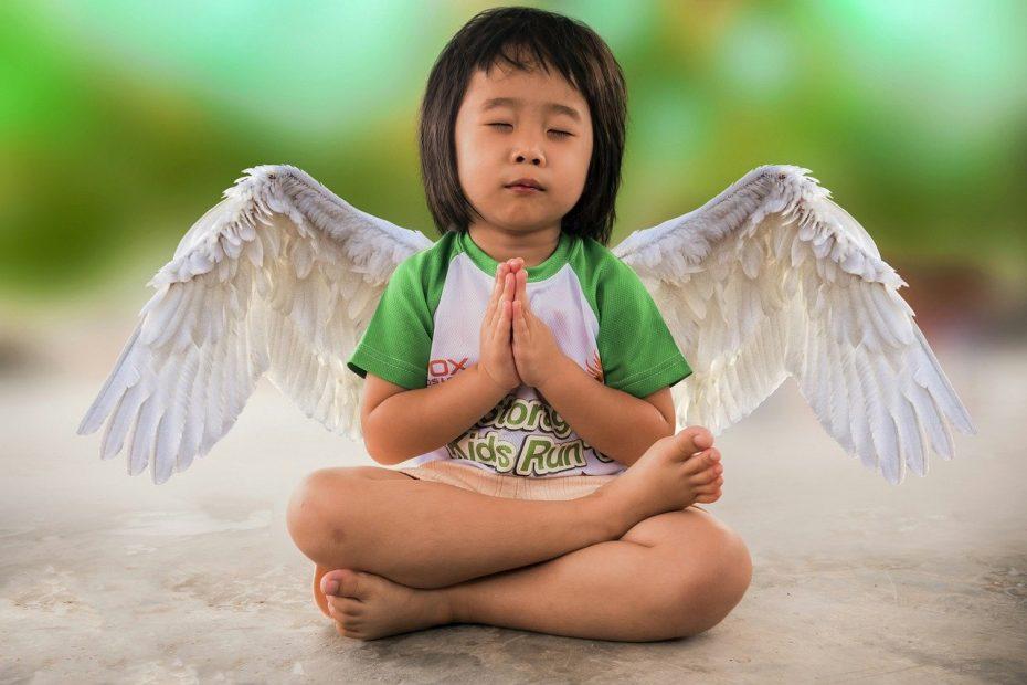 little girl, freedom, angel