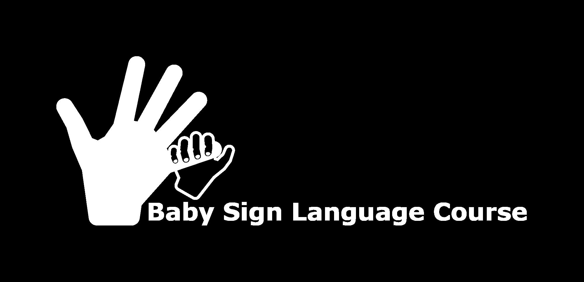 Baby Sign Language Course-logo-white