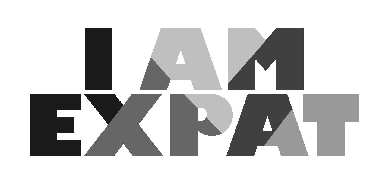 IamExpat Logo Colour_B&W