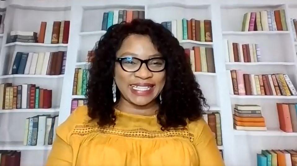 Florence Igboayaka on Zoom